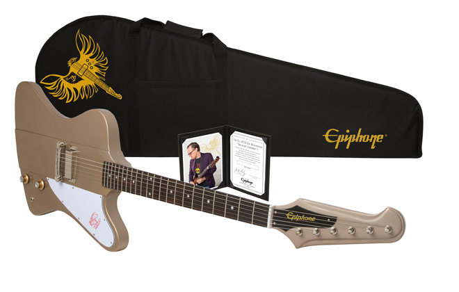 epiphone introduces the ltd ed joe bonamassa firebird i outfit. Black Bedroom Furniture Sets. Home Design Ideas