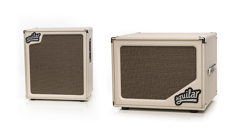 Aguilar Amplification announces Limited Edition SL 112 and SL 410x for 2017 - Antique Ivory