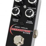 Pigtronix Disnortion dual distortion/fuzz Micro Pedal