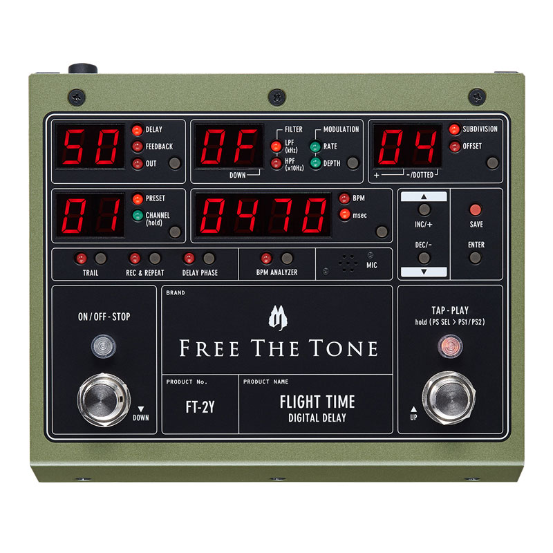 Free the Tone Flight Time FT-2Y Digital Delay