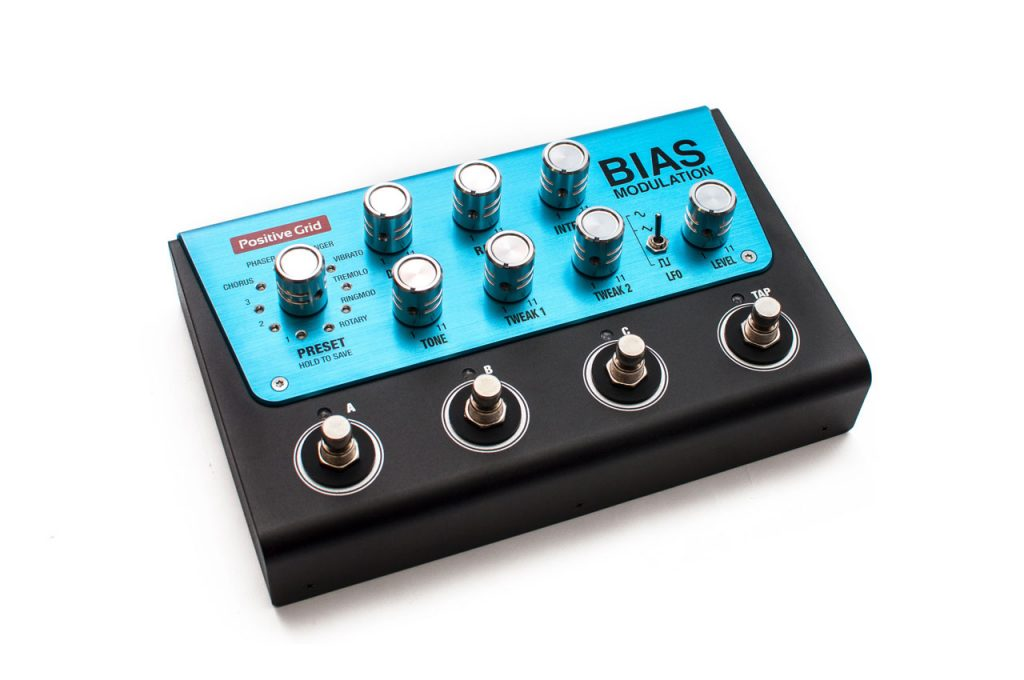 Positive Grid BIAS Modulation Pedal
