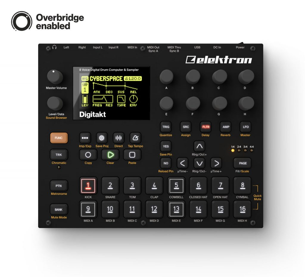 Elektron Digitakt now available for purchase