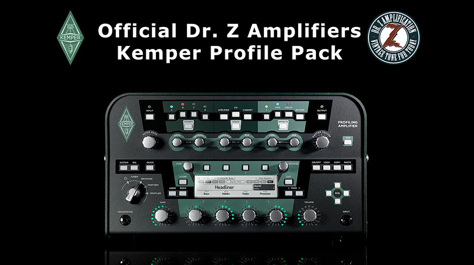 Official Dr. Z Kemper Profile Packs