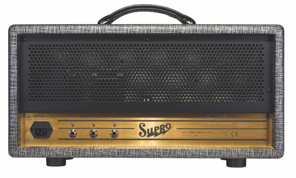 Supro release Black Magick Head