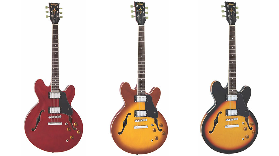 Vintage release new VSA500 semi-acoustic models