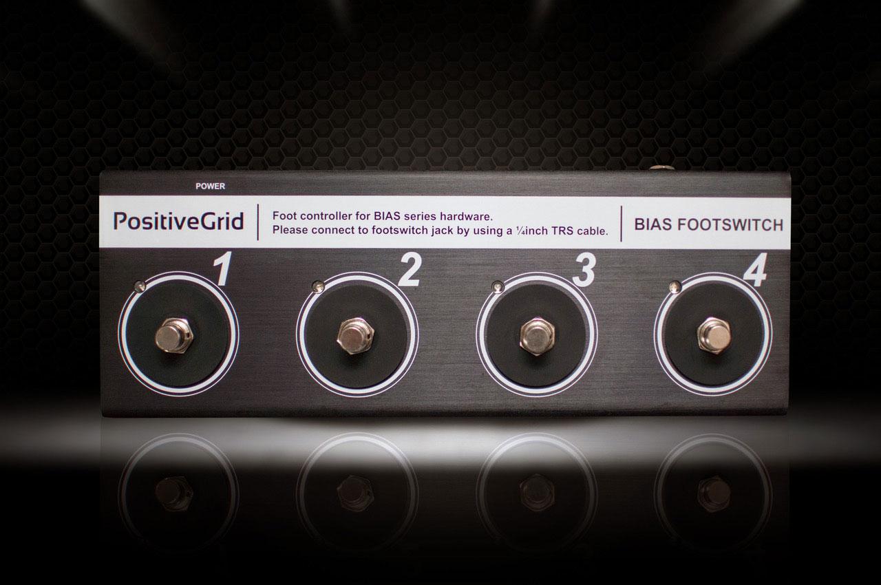 Positive Grid Announces Bias Mini Amplifier Twin Pedals