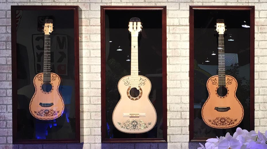 New Córdoba Guitars inspired by Disney Pixar's Coco Revealed at D23 Expo