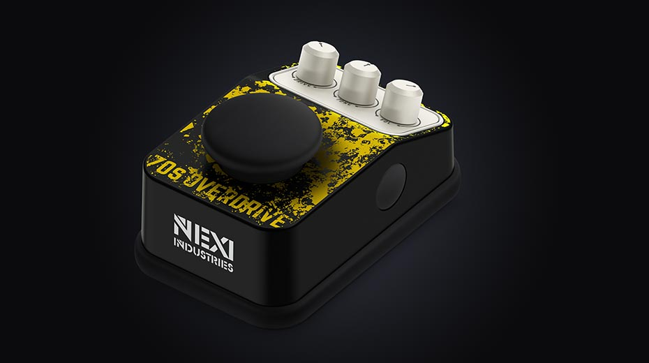NEXI Industries' analog 70's Overdrive pedal