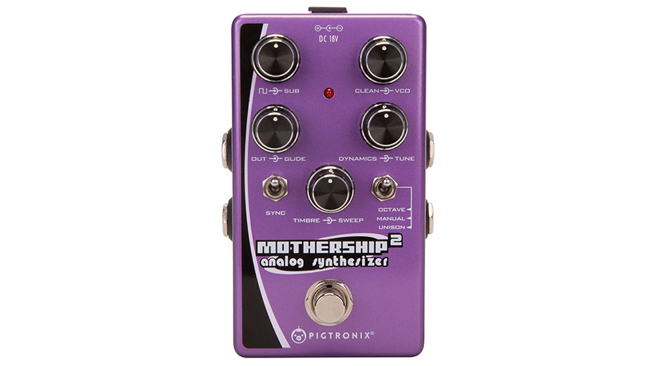 Pigtronix launches Mothership 2 analog synth pedal