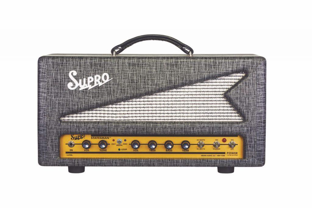 Supro release Statesman Head & Combo amplifiers