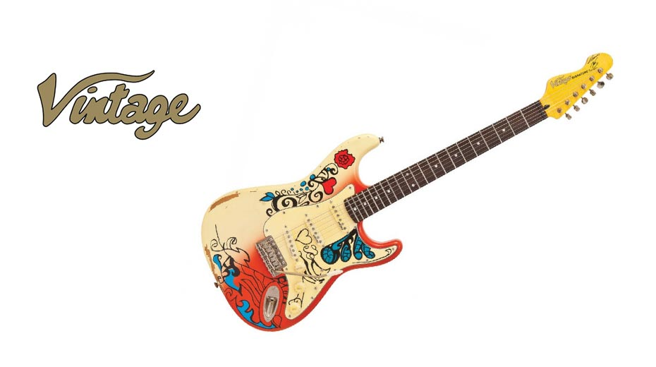 Vintage electric guitar ranges now CITES Free