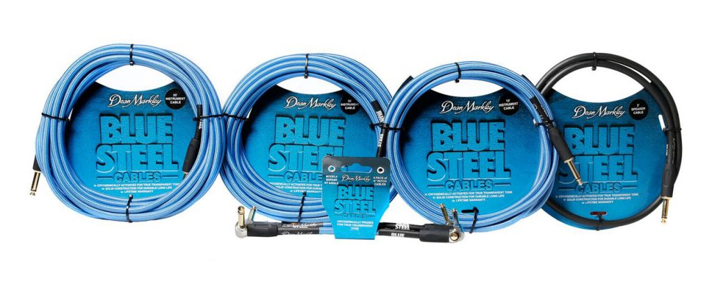 Dean Markley Blue Steel Instrument and Speaker Cables