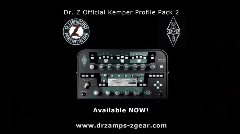 DR.Z Releases Latest Official Kemper Amp Profiles