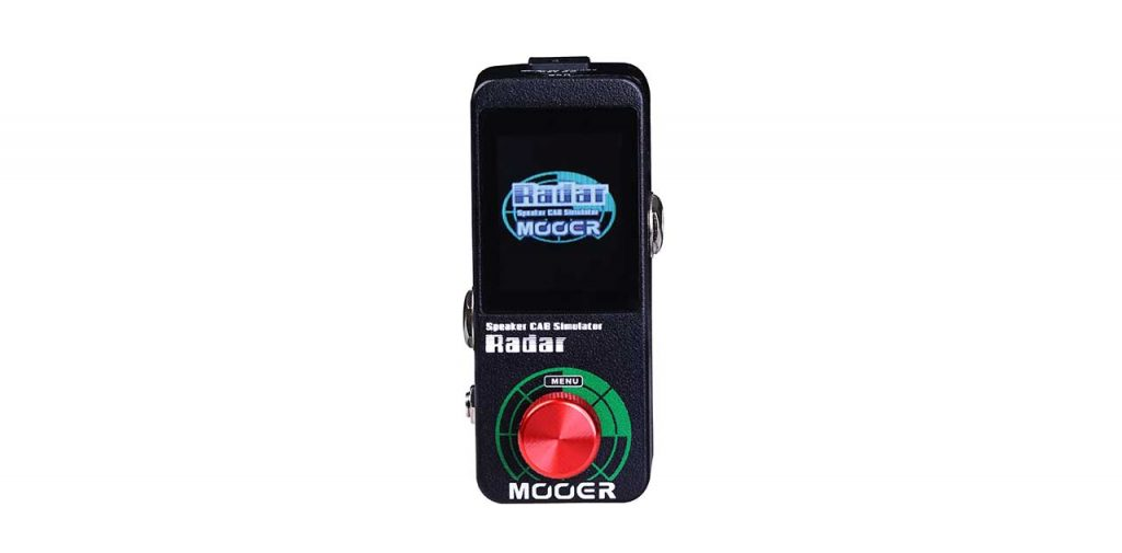 MOOER RADAR Speaker cab simulator and IR loader