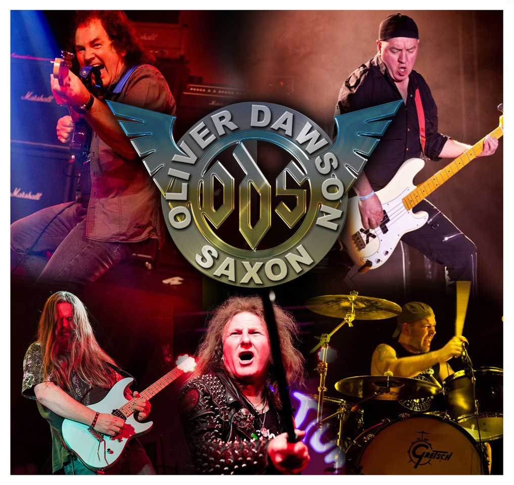 Oliver Dawson Saxon set to rock their hometown again