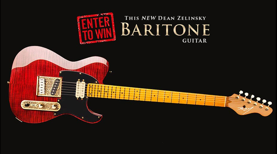 Dean Zelinsky Baritone Dellatera Giveaway
