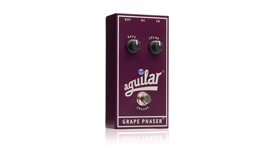 Aguilar Amplification Announces The Grape Phaser® Bass Phase Pedal