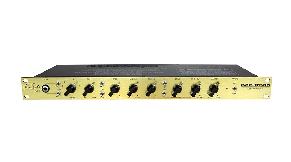 Rocktron Captures Guitar Player Editor's Pick Award For ValveSonic Plexi