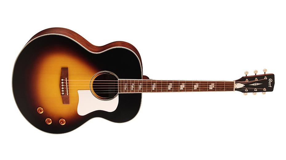 Cort's CJ-Retro Jumbo Acoustic-Electric Delivers Big Sound