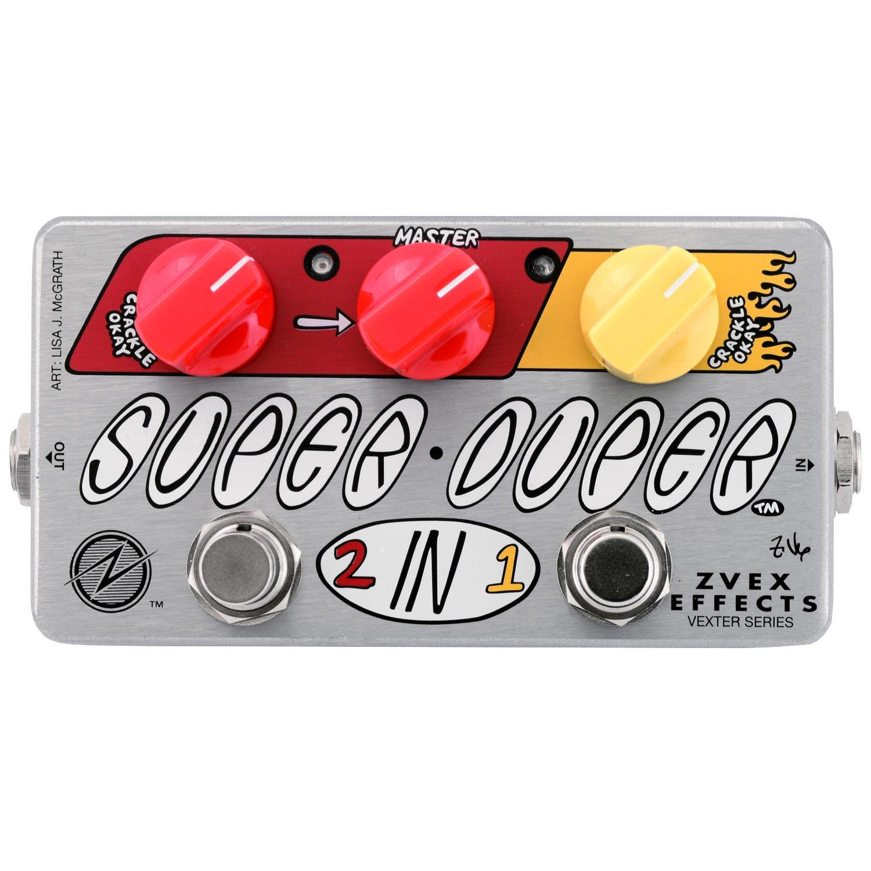 Brand New ZVEX Super Duper Concert Bass Mod Pedal Based on SUNN Concert Bass