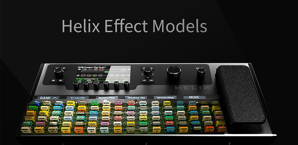 Line 6 Helix Effect Models | List with all effect models in