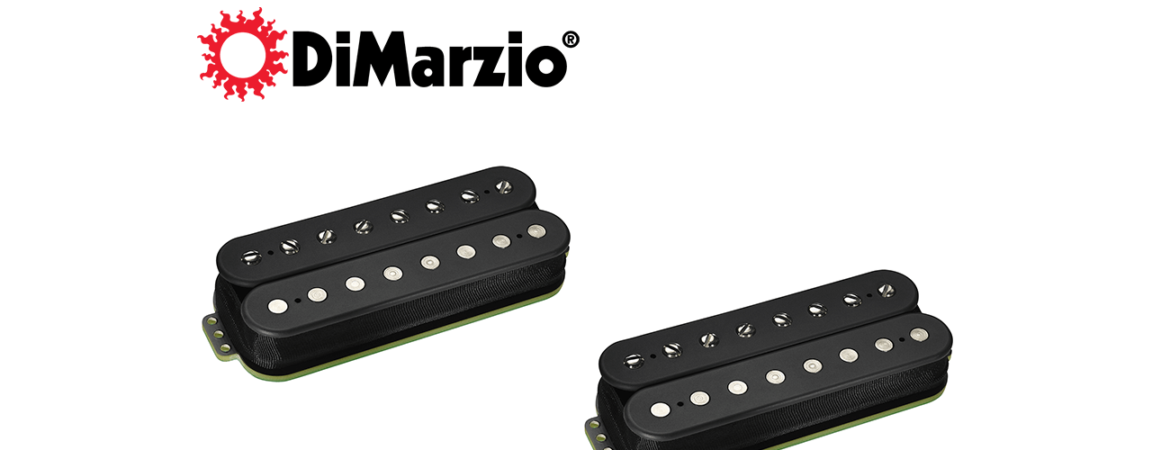 DiMARZIO RELEASES ECLIPSE 8™ NECK & BRIDGE PICKUPS FOR 8-STRING ELECTRIC GUITARS