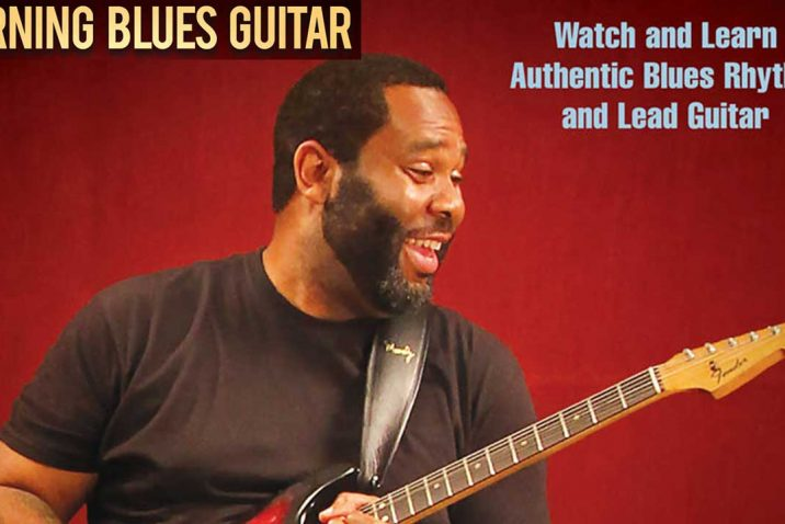 Burning Blues Guitar Watch and Learn Authentic Blues Rhythm and Lead Guitar by Kirk Fletcher