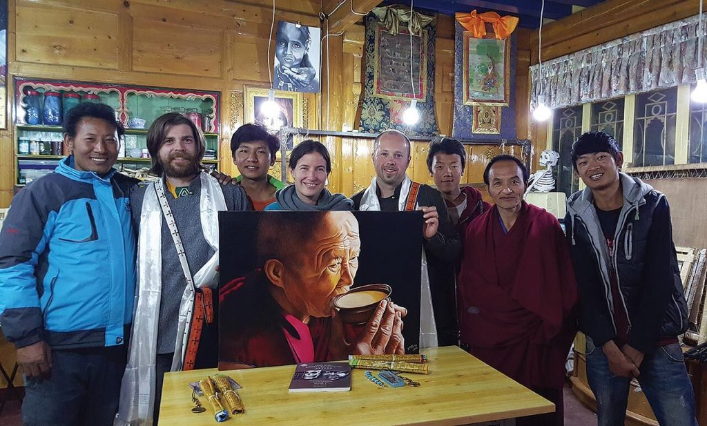 Alistair Hay, founder of Emerald Guitars, travelled to the Tibetan region of China