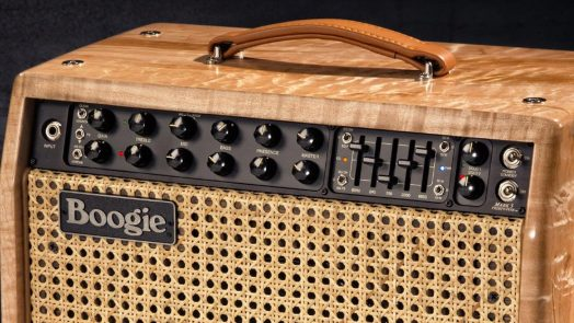 Mark Five 35 - New Amp from Mesa Boogie. Compact 1x12 Combo and Head feature the addition of 4xEL84 power