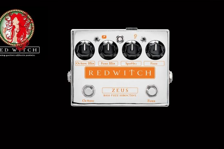 Red Witch Zeus – Bass Fuzz Suboctave