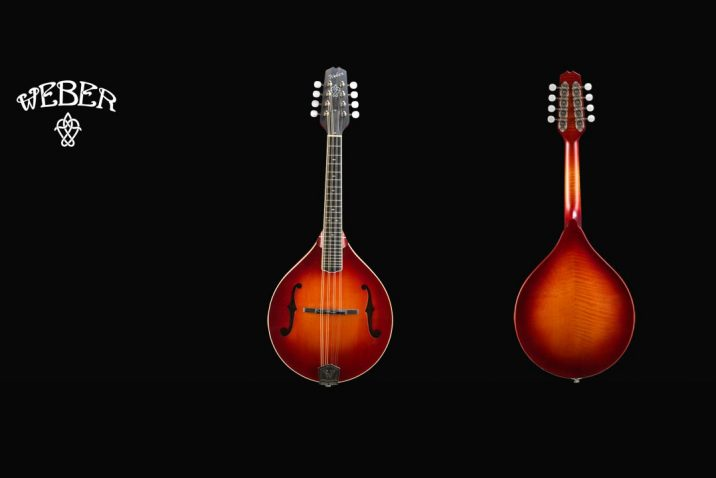Weber Mandolin Bitterroot Acoustic Instruments