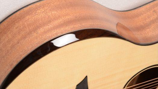 Avian Guitars is now offering an optional arm bevel