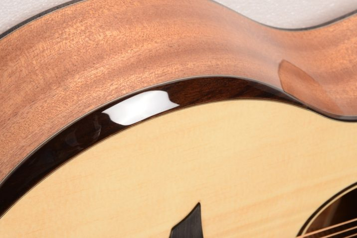 Avian Guitars is now offering an optional arm bevel
