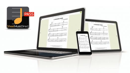 Sheet Music Direct PASS