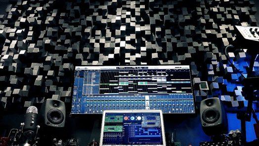 Vicoustic acoustic treatment - New studio room for Richard Devine