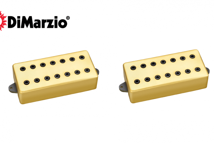 DiMarzio Titan hum-canceling pickups for 7-string electric guitars