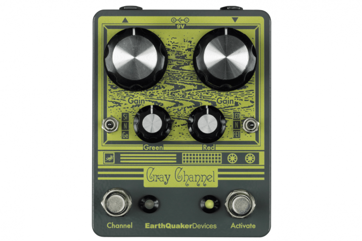 EarthQuaker Devices Gray Channel Dynamic Dirt Doubler