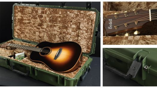 Free SKB Case with Purchase of Bedell Guitar