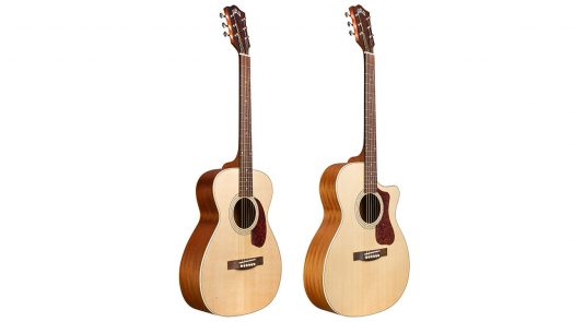 Guild Guitars new Arched Back Acoustic Models
