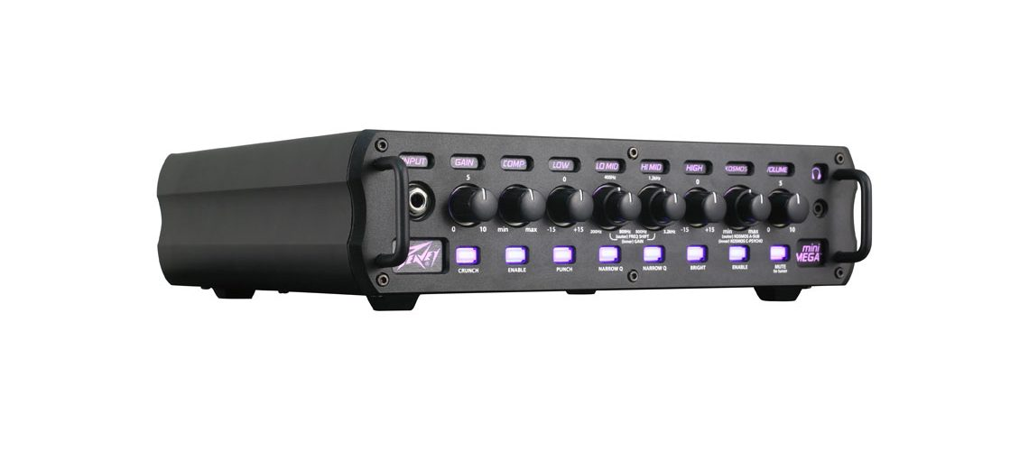 Peavey's® MiniMEGA™ Bass Amplifier Now Available.