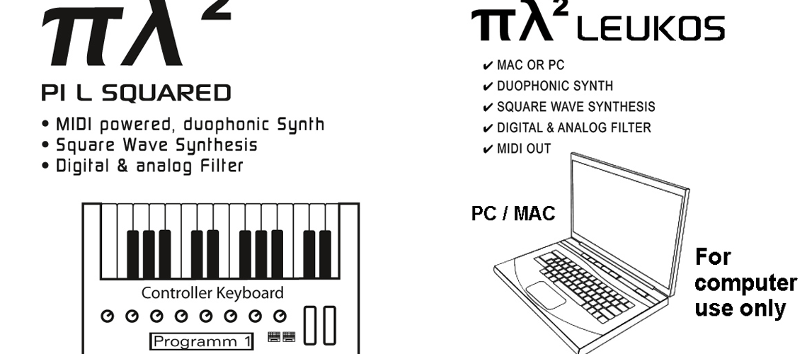 """The Ploytec Synthesizer """"πλ² Pi L Squared"""" got a fantastic new demo song"""