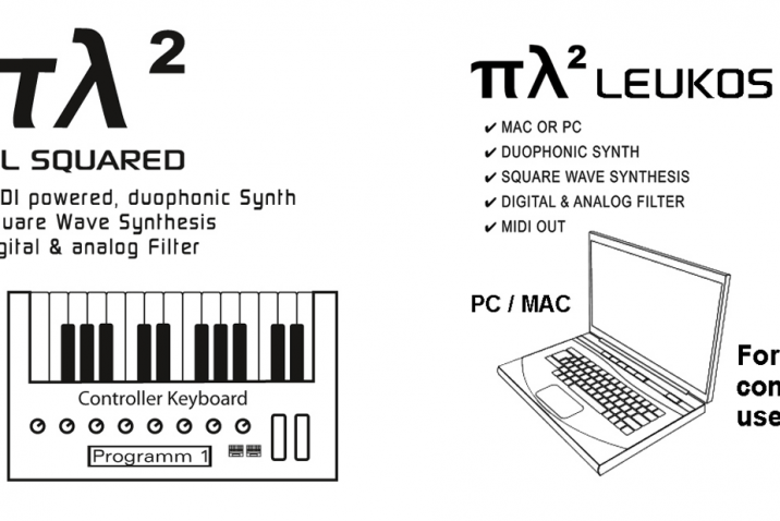 "The Ploytec Synthesizer ""πλ² Pi L Squared"" got a fantastic new demo song"
