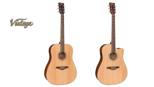Vintage release acoustic and electro-acoustic '501' guitars