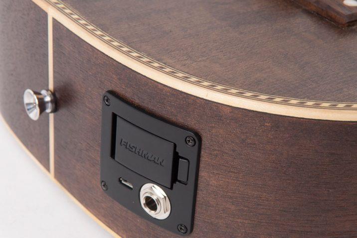 Vintage Paul Brett Signature VTR800PB- USB Viator Travel Guitar