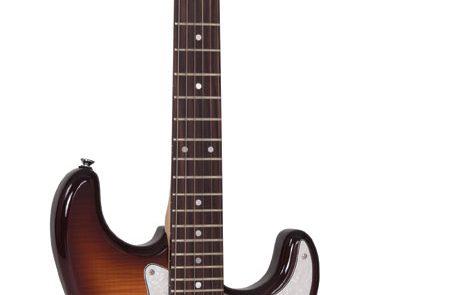Vintage V6P and V6H electric guitars at NAMM 2016