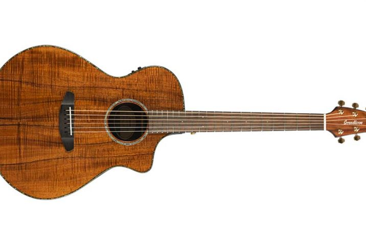 Breedlove Pursuit Concert Koa Guitar