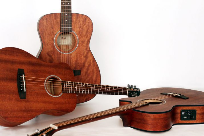 Cort Introduces All Mahogany Acoustic Guitars