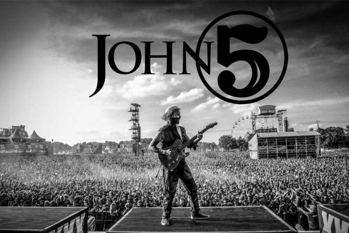 John 5 Announces New Video Teaser and Revised Tour Dates
