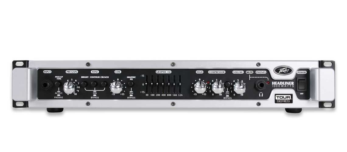 Peavey® Headliner® 1000 Bass Amplifier Head Now Available