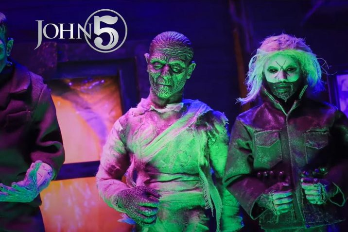 """John 5 Unveils New Music Video """"Making Monsters"""""""